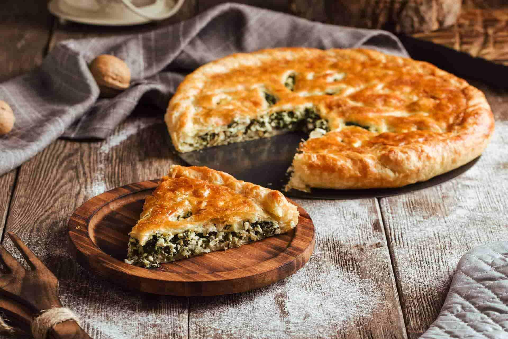 Ispanaklı Peynirli Çıtır Börek Tarifi