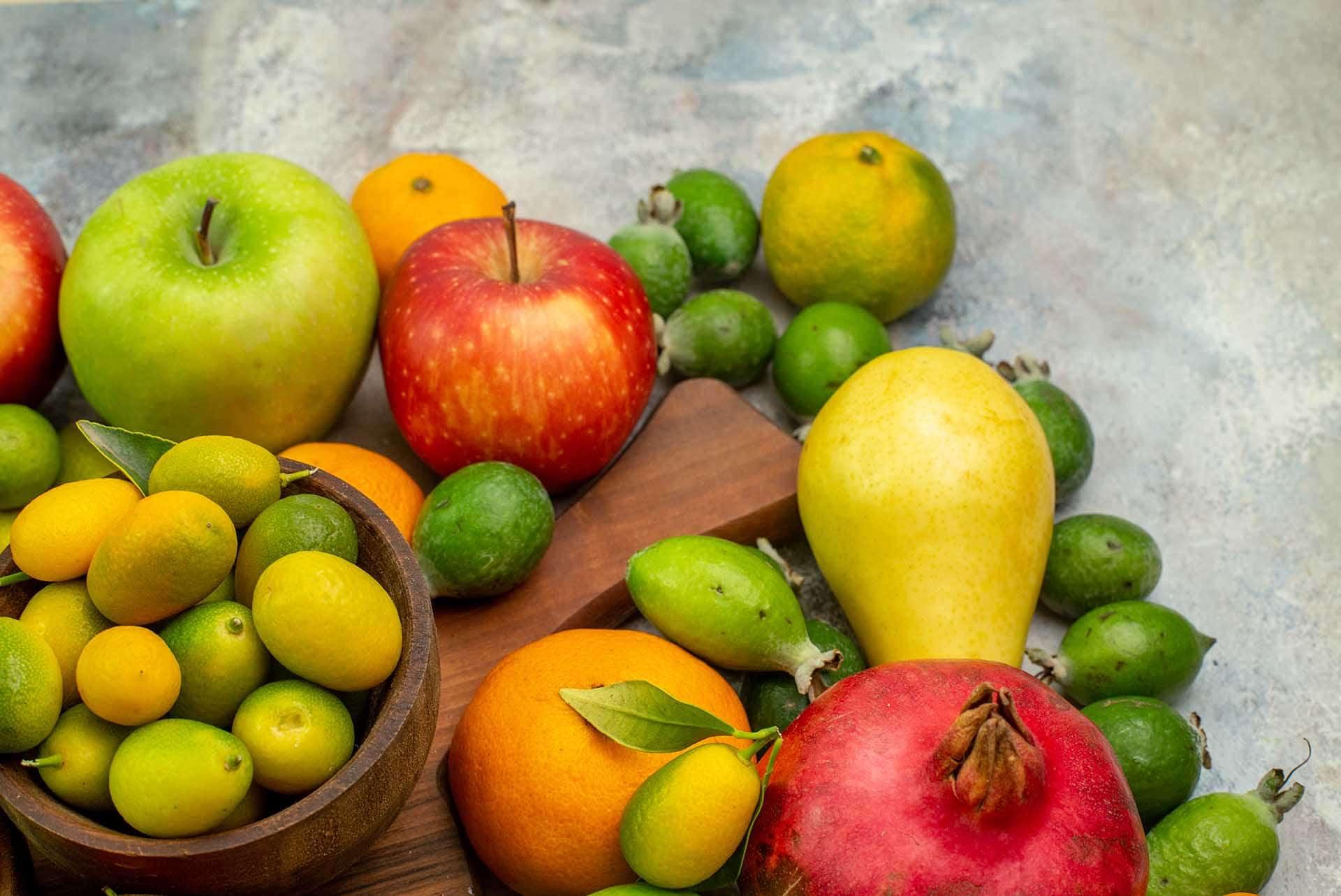 Vitamin Deposu 10 Kış Meyvesi